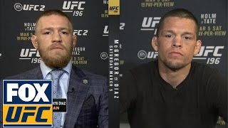 Conor McGregor and Nate Diaz join FOX Sports Live (3/3/16)