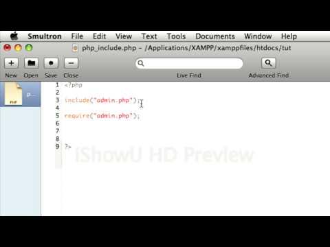Как сделать include php