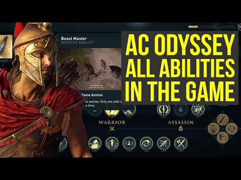 Assassin's Creed Odyssey Gameplay - ALL ABILITIES In The Game (AC Odyssey Gameplay)