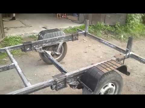 Как сделать телегу для автомобиля своими руками