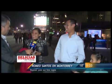 Las Noticias - Todo un éxito presentación de Romeo Santos en Monterrey