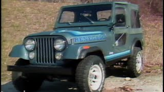 MotorWeek | Retro Review:  '81 AMC Jeep CJ-7