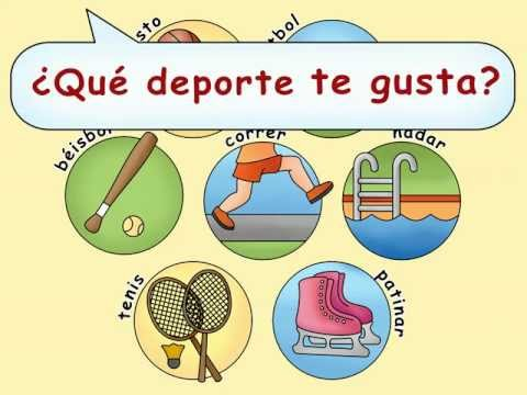 What is your favorite sport? - ¿Qué deporte te gusta? by Calico Spanish
