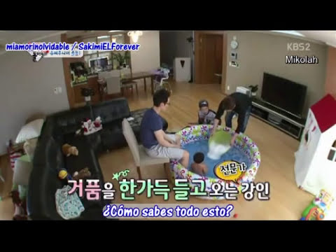 (Sub Español) 140309 Return of Superman Heechul and Kangin LINK EN LA DESCRIPCIÓN