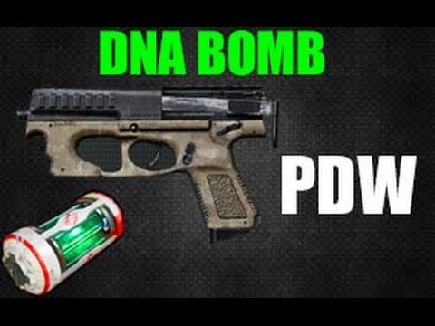Bird Bomb Pistol Pdw Pistol Dna Bomb aw