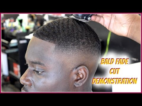 BARBER HOW TO: Bald fade Demonstration HD