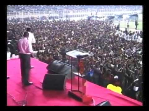 Domenico Rampello ministries Congo 2011 Stade des Martyrs Kinshasa