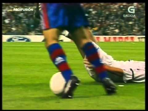 Barcelona vs Real Madrid - El Clásico, 1997 at Camp Nou