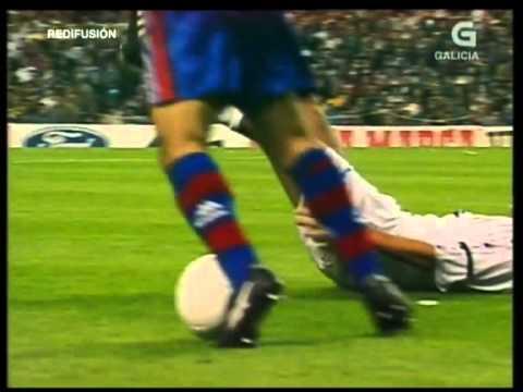 Barcelona vs Real Madrid - El Clásico, 1997 at Camp Nou