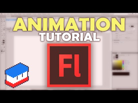 How to make a basic Flash Animation in Adobe Flash CS6!