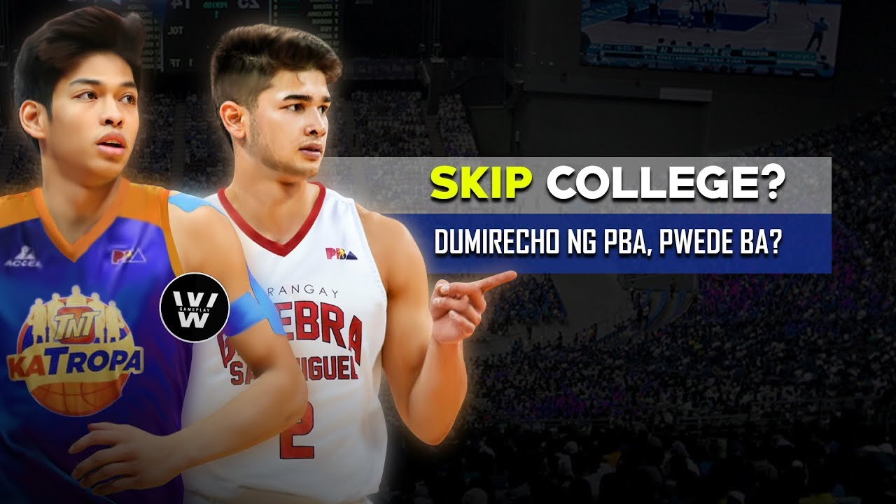 Pwede bang Dumirecho ng PBA kahit BATA pa? | PBA Draft Requirements | Paano Magpa-DRAFT sa PBA?