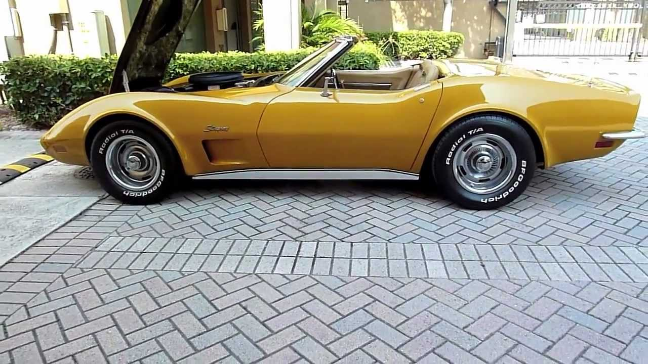 1973 corvette convertible 454 4 speed ac all matching numbers. Cars Review. Best American Auto & Cars Review