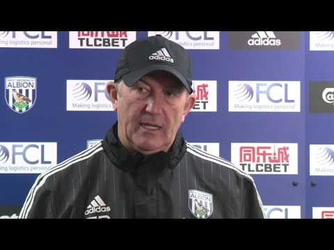 PRESS CONFERENCE: Tony Pulis speaks ahead of Albion's trip to Manchester City