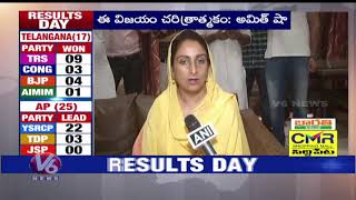 Union Minister Harsimrat Kaur Badal Speaks Over BJP Victory, People Voted For Development