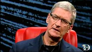 Apple CEO Tim Cook at D10 Full 100 Minute Video