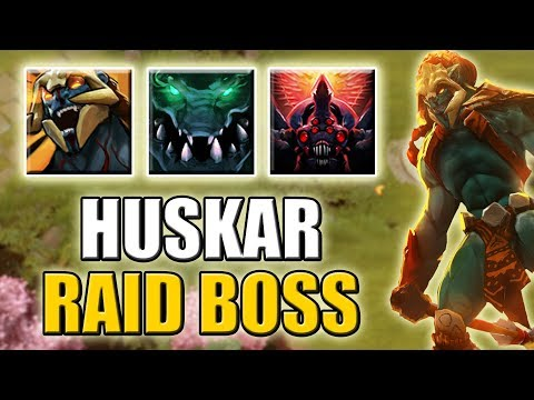 Create your own Monster [Huskar Passive, Underlord Passive + Brood Ulti] Dota 2 Ability Draft
