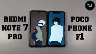 Redmi Note 7 Pro vs Pocophone F1 Speed test/Gaming comparison Snapdragon 675 vs 845
