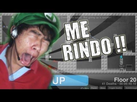 ME RINDO !! | Give Up (juegos difíciles)