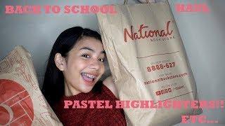 BACK TO SCHOOL HAUL 2018 | PHILIPPINES