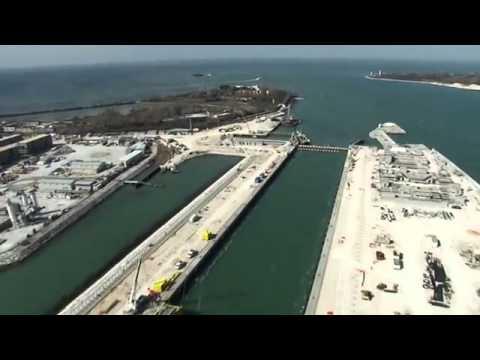 Mose. Aggiornamento cantieri bocca di porto di Malamocco-marzo 2014