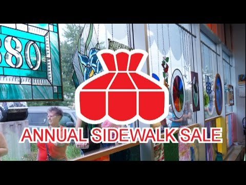 Delphi Glass Annual Sidewalk Sale