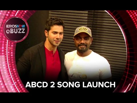Varun Dhawan & Remo D'Souza At ABCD 2 Song Launch | ErosNow EBuzz | Bollywood News