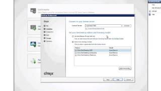 Citrix XenDesktop CCA Installing the first controller