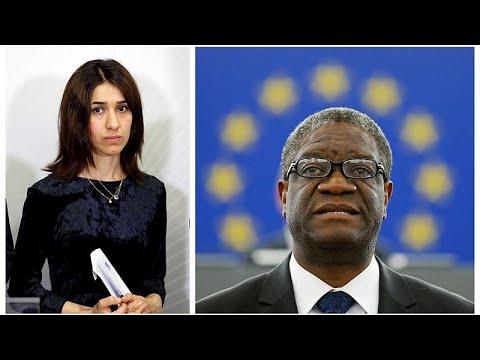 Nobel de la Paz: Dos heroes de la lucha contra la violencia sexual