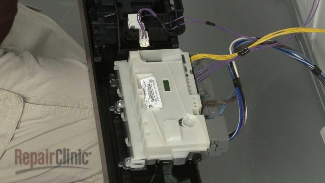 Dishwasher Main Control Board Replacement  U2013whirlpool
