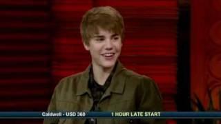 justin bieber 2011 interview - regis & kelly show!