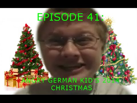 Agk Ep 41 Angry German Kid's 2014 Christmas video