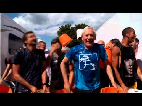 Ian McKellen ALS Ice Bucket Challenge