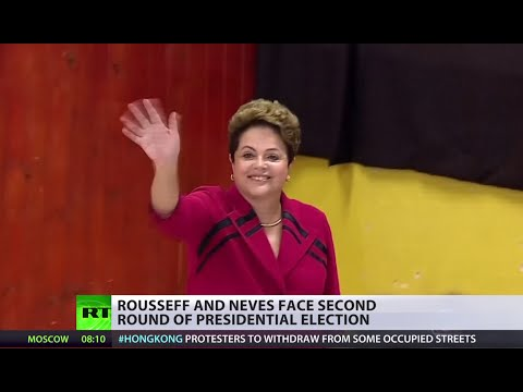 Brazil 1st round: Rousseff wins, pro-business surprise candidate Neves 2nd