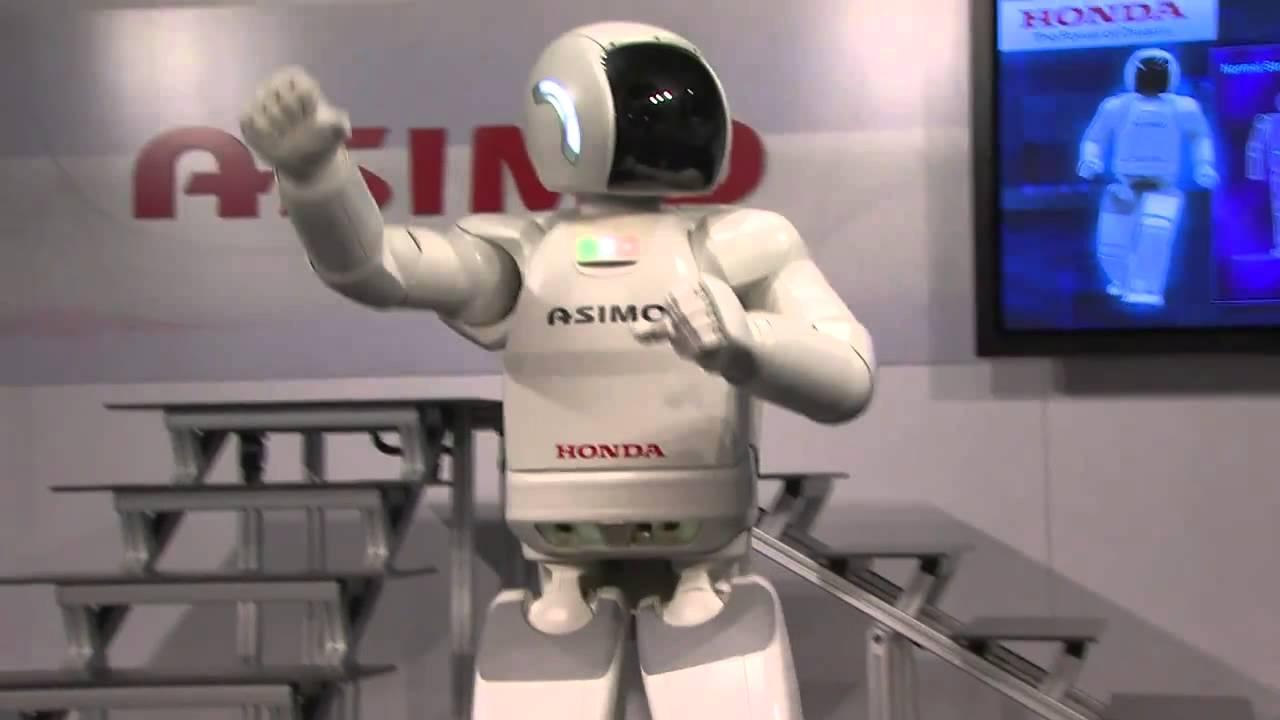 Robot Humanoide Honda Honda Asimo Robot Most