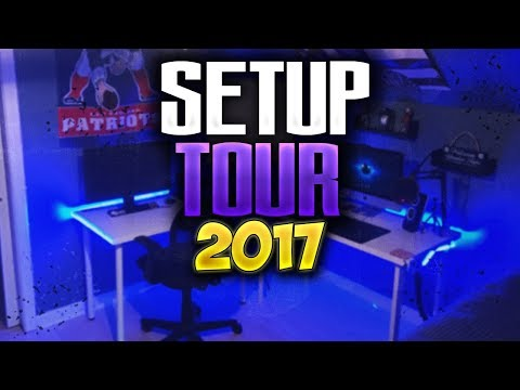 EPIC SETUP/ROOM TOUR (2017)