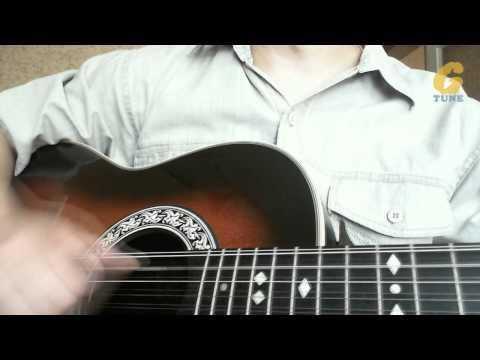 Техника игры правой рукой на гитаре. Урок 1-ый
