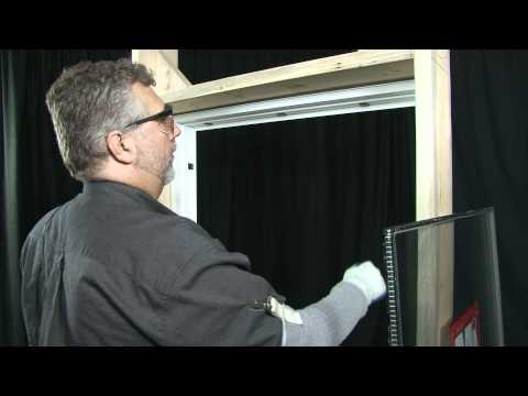 How to remove and replace a picture window glass