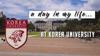 a day in my life: Korea University