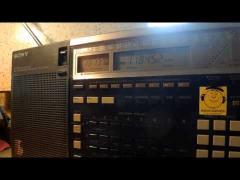 20 07 2015 All India Radio in Chinese to EaAs 1310 on new 11845 Delhi, ex 11855