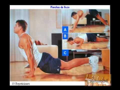 Rutinas de ejercicios sin pesas ni aparatos youtube for Aparatos de ejercicio