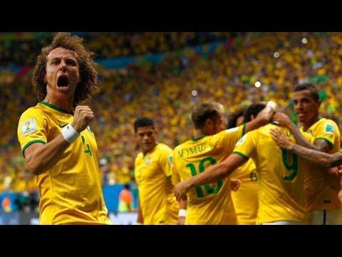 Brasil x Colombia - Gols - Copa Mundo 2014 - Quartas de finais