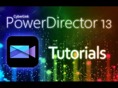 Cyberlink PowerDirector 13 - Tutorial for Beginners [+ General Overview]*