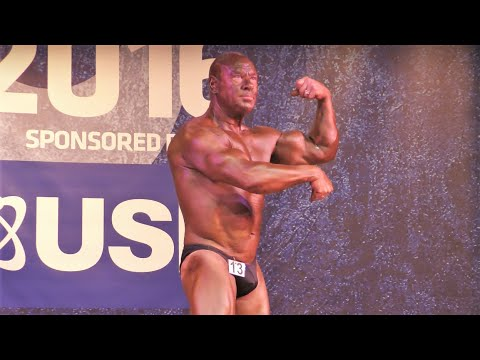 John Holt – Competitor No 13 - Masters Over 50 - NABBA Midlands 2016