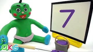 Best of Learning Green Baby Videos Educational Stop Motion Cartoons For Kids