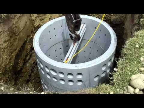 Farris Septic - Installation of Septic Tank and Seepage Pit