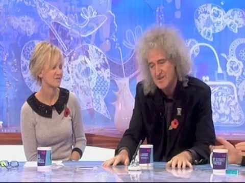 Brian May Loose Women 8 November 2012