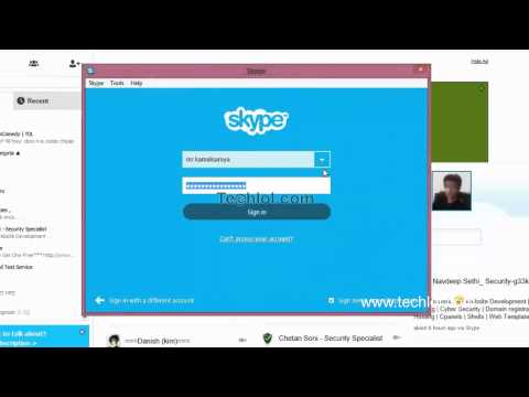 [हिंदी-Hindi]  open multiple skype accounts at the same time in windows 8