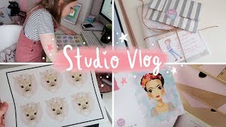 STUDIO VLOG | Stickers, Big Sale & a PO Box!