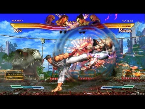 Street Fighter X Tekken - Street Fighter X Tekken '8 minutes of Gameplay' TRUE-HD QUALITY