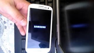 Samsung Galaxy S3 I-9300 como aplicar o hard reset de fábrica